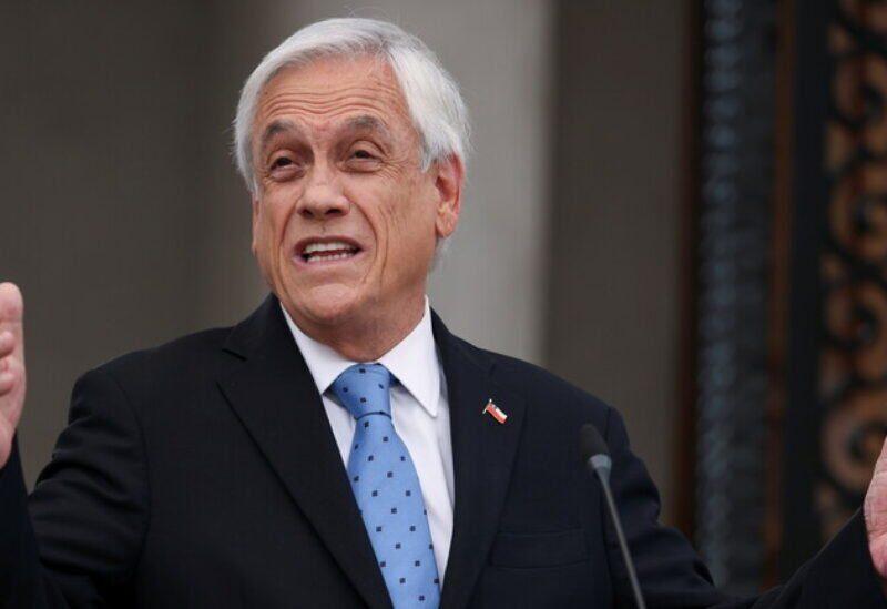 Le président Sebastian Piñera