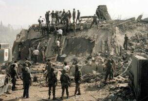 Bombardement de la caserne des Marines à Beyrouth