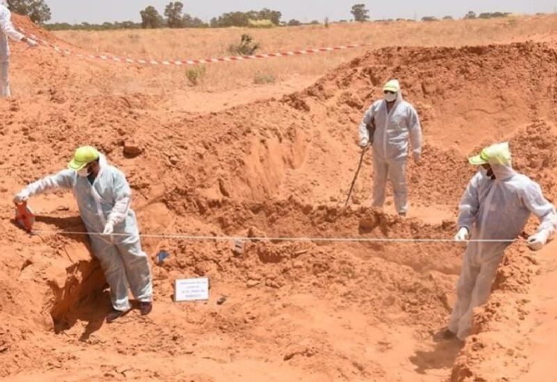 Des fosses communes dans l'ouest de la Libye