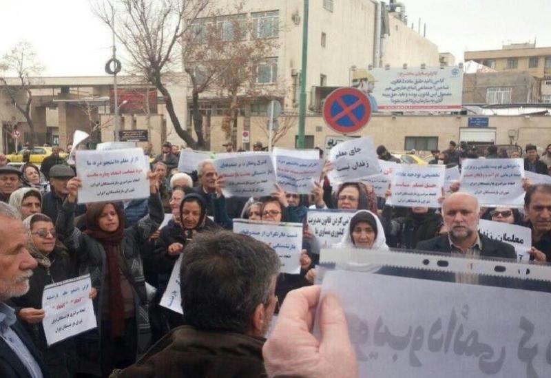 Des manifestations contre les mauvaises conditions de vie en Iran