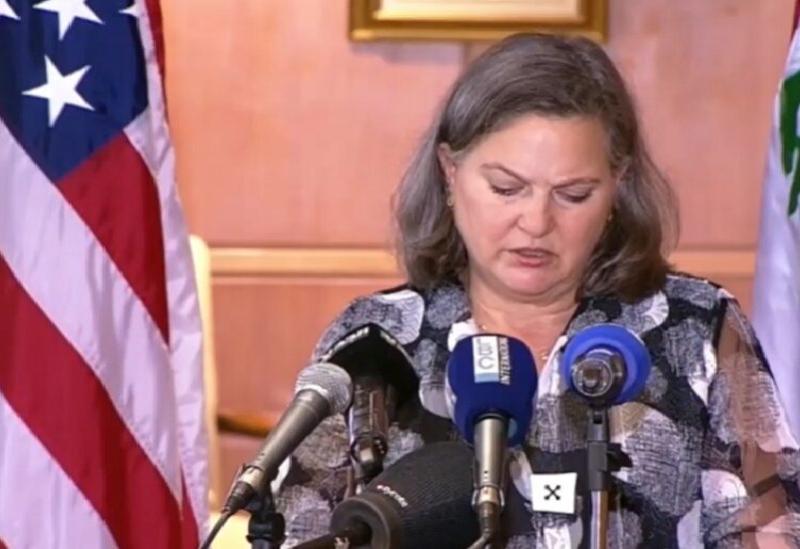 La sous-secrétaire d'État américaine Victoria Nuland