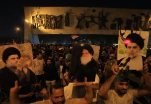 Le bloc Al-Sadr en tête des élections irakiennes