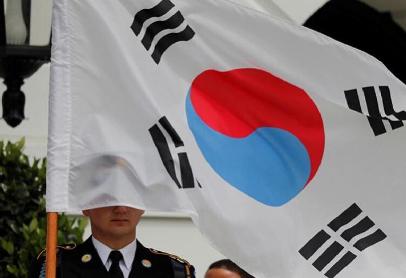 Le drapeau de la Corée du Sud