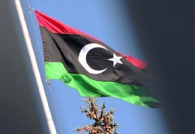 Le drapeau de la Libye