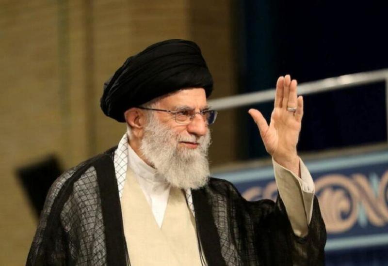 Le guide suprême iranien Ali Khamenei
