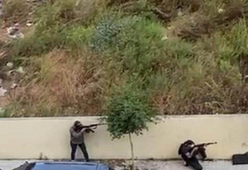 Les membres de la milice du Hezbollah