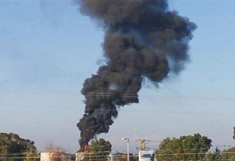 L'incendie de Zahrani