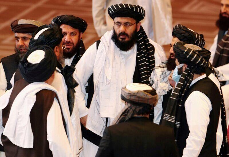 Des dirigeants des Talibans REUTERS/Ibraheem al Omari/File Photo