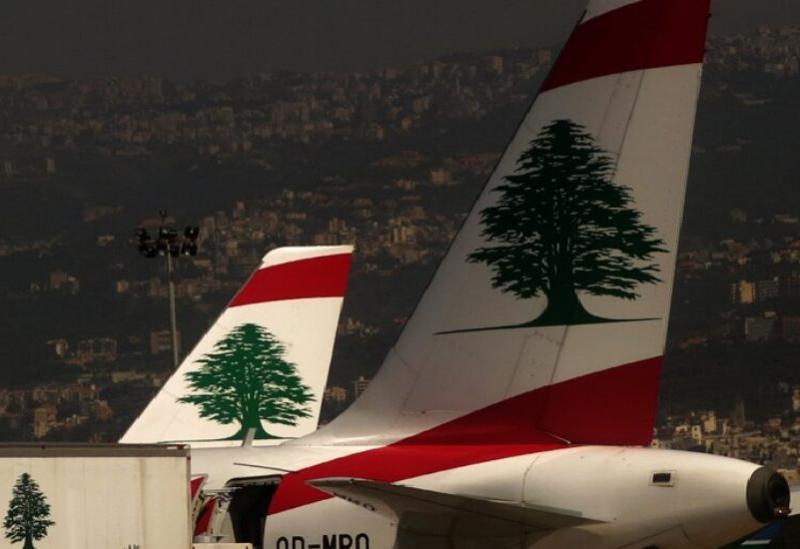 Un avion libanais - expressif