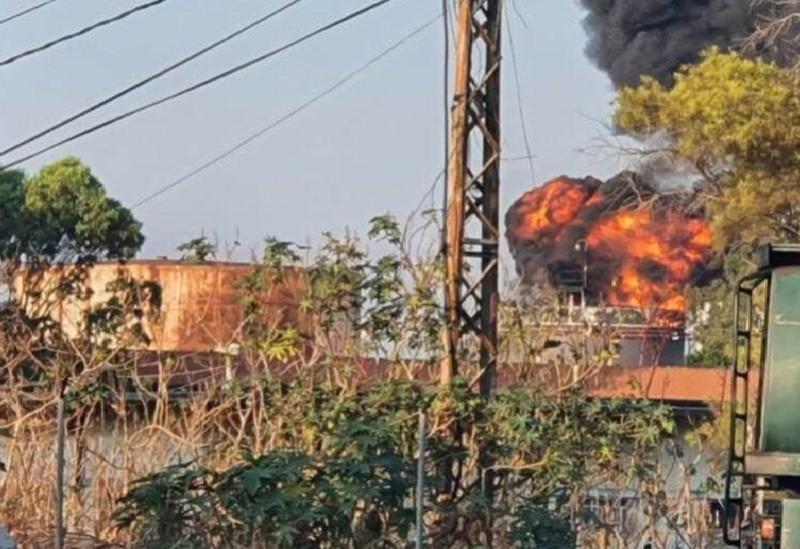 Un incendie dans les installations d'Al-Zahrani